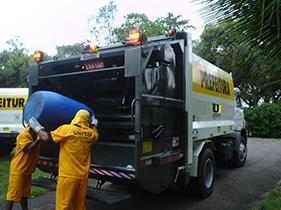 caminhão de lixo editada